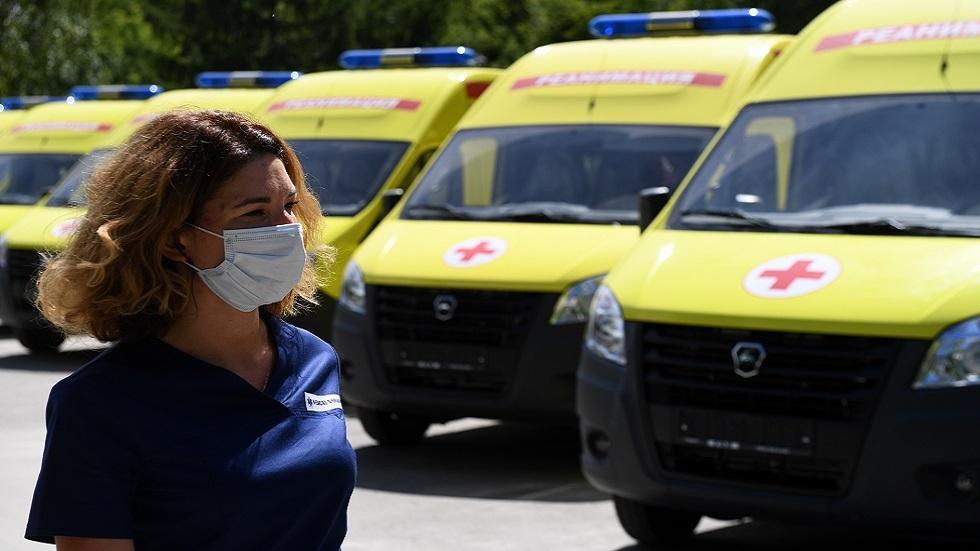 روسيا تسجل 6406 إصابة و186 وفاة جديدة بكورونا