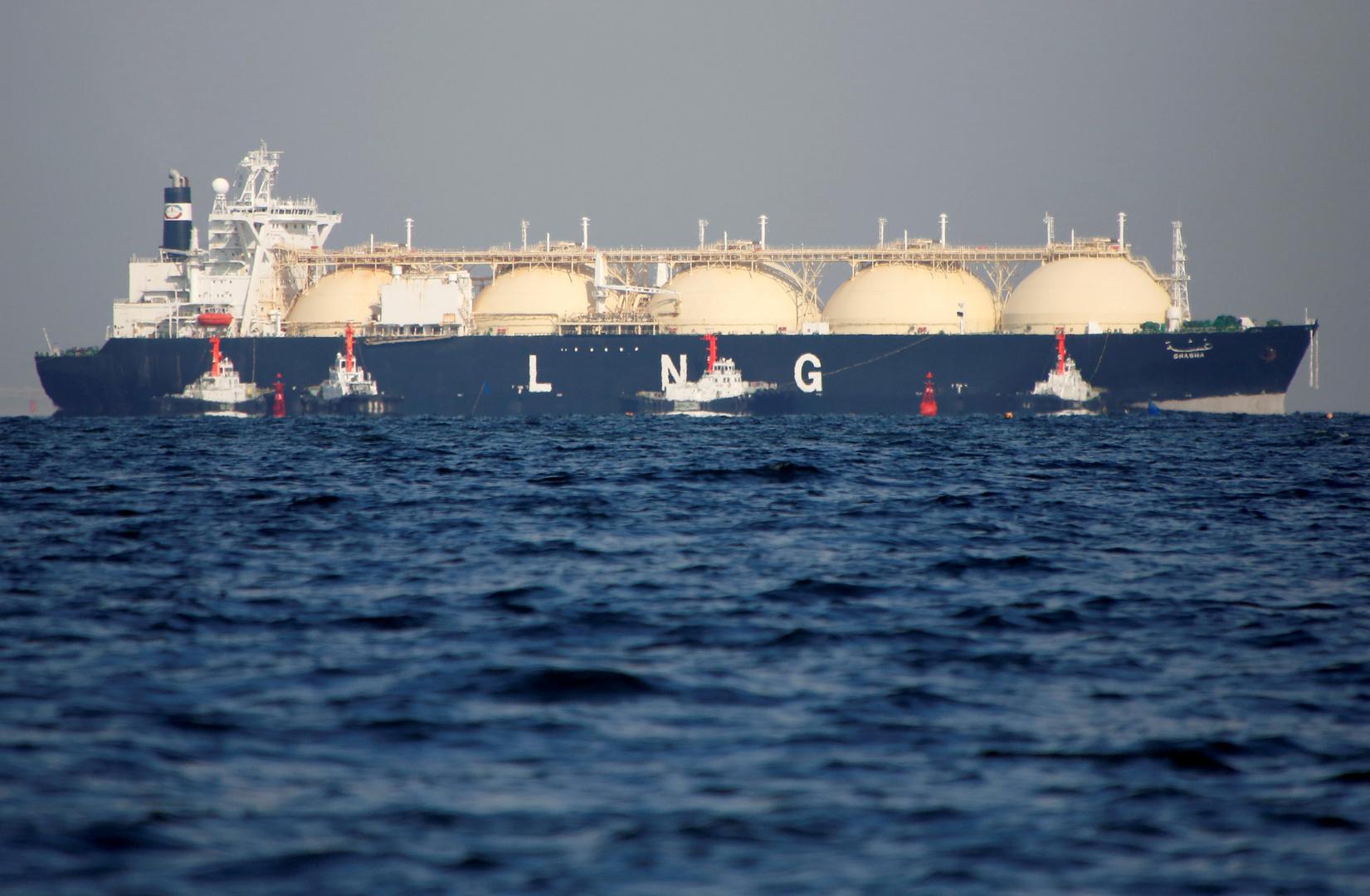 روسيا تستهدف مضاعفة حصتها في سوق الغاز الطبيعي المسال في الأعوام الخمسة القادمة