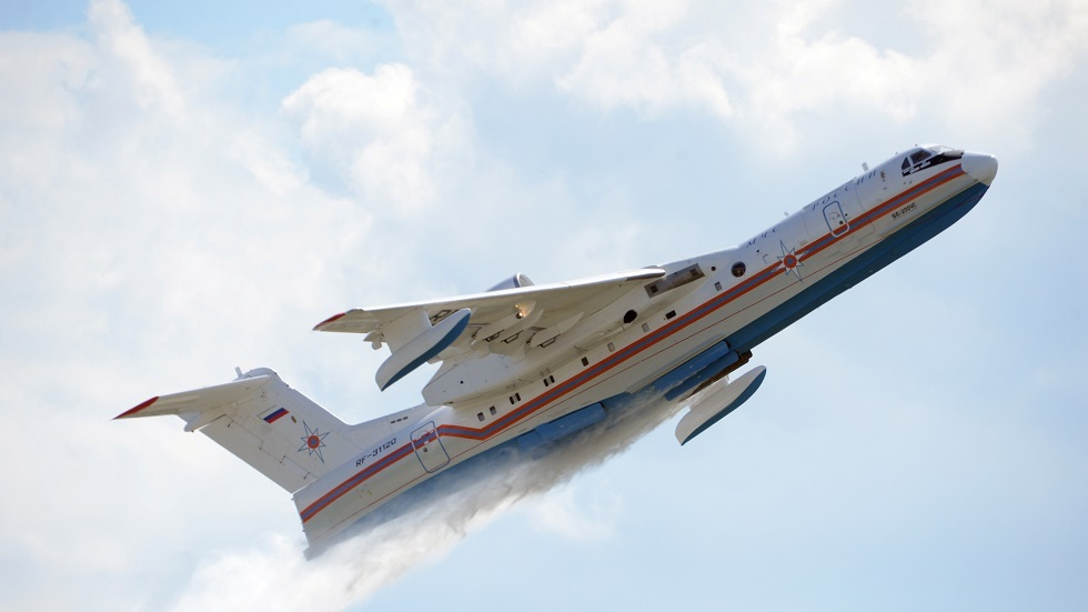 الجيش الروسي يتزود بطائرات برمائية جديدة