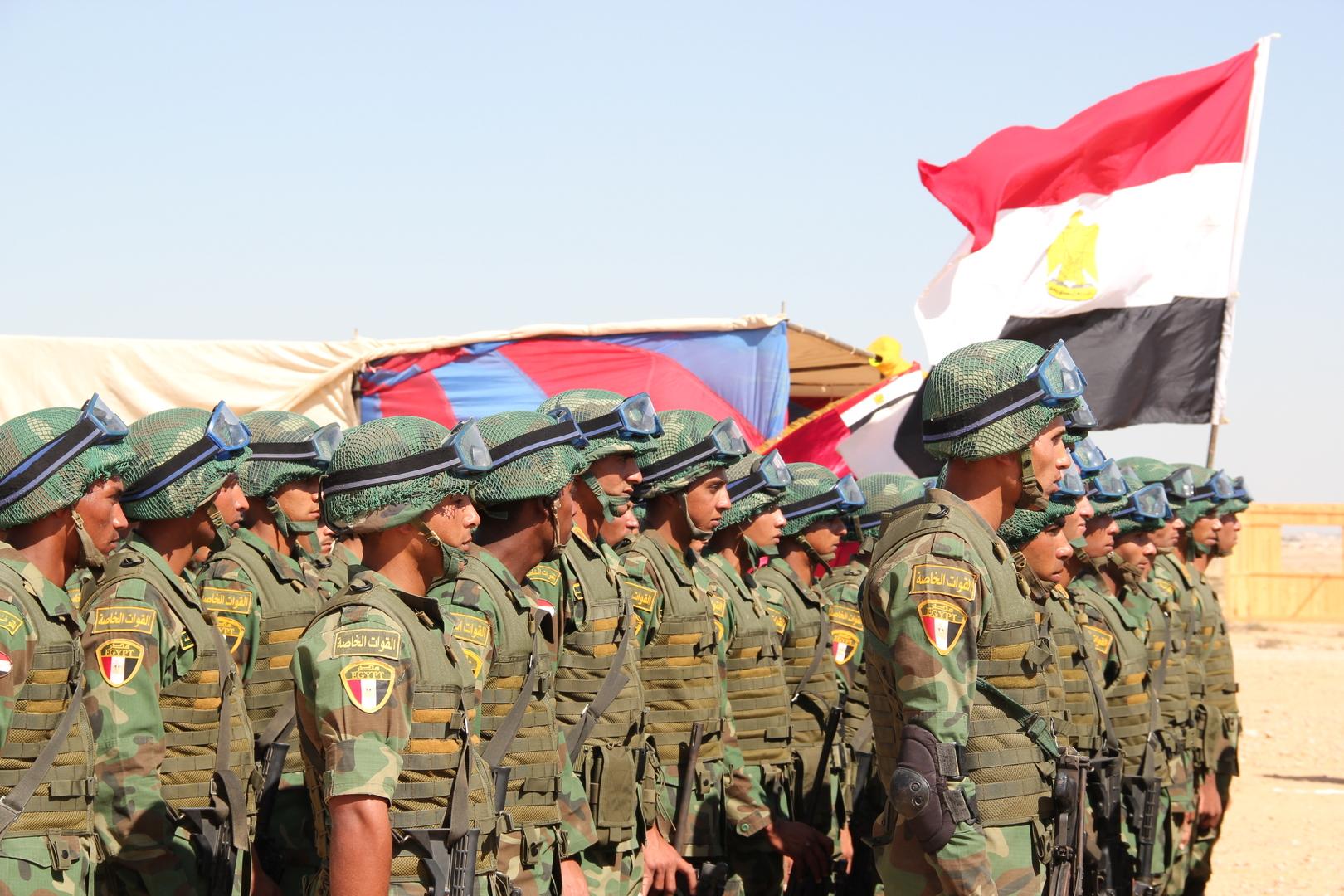المصريون يفوضون السيسي للتدخل العسكري في ليبيا (صور)