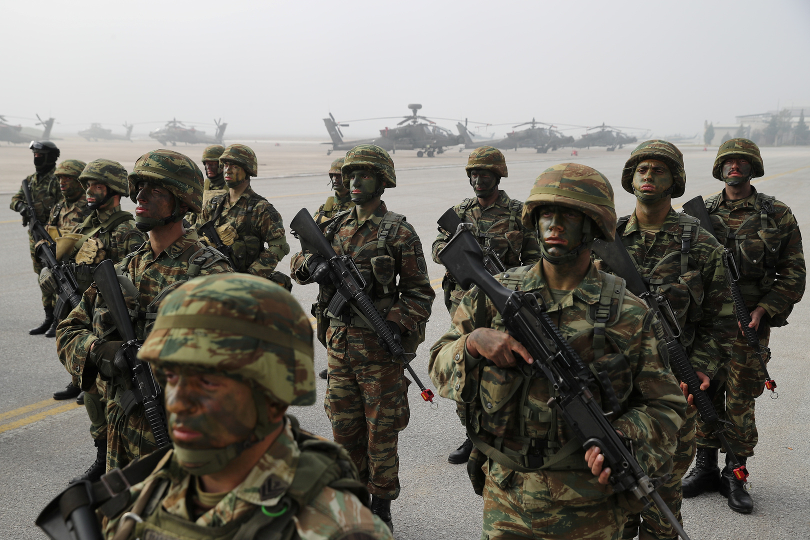 الجيش اليوناني: تركيا تزعزع استقرار المنطقة وتعزيز شراكتنا مع إسرائيل أولوية مطلقة