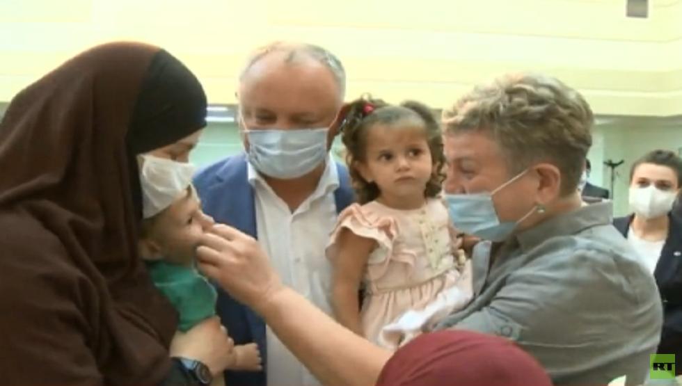 المخابرات التركية تعلن عن إنقاذ مولدوفية وأطفالها الأربعة من مخيم الهول شمالي سوريا