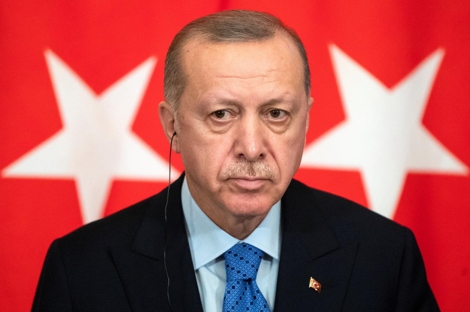 أردوغان: خطوات مصر في ليبيا غير شرعية والإمارات تقوم بأعمال قرصنة