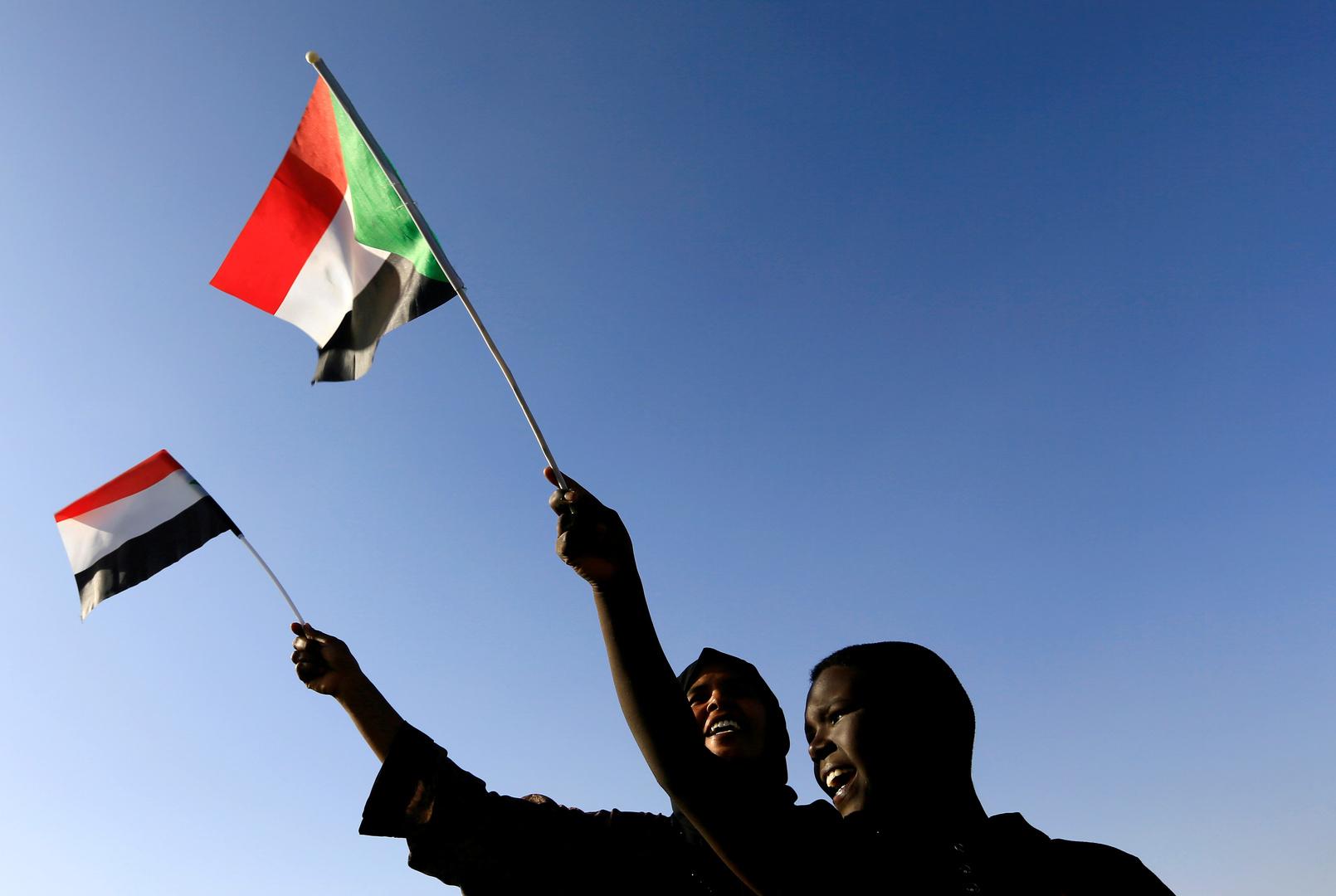 التلفزيون السوداني ينشر خريطة بدون
