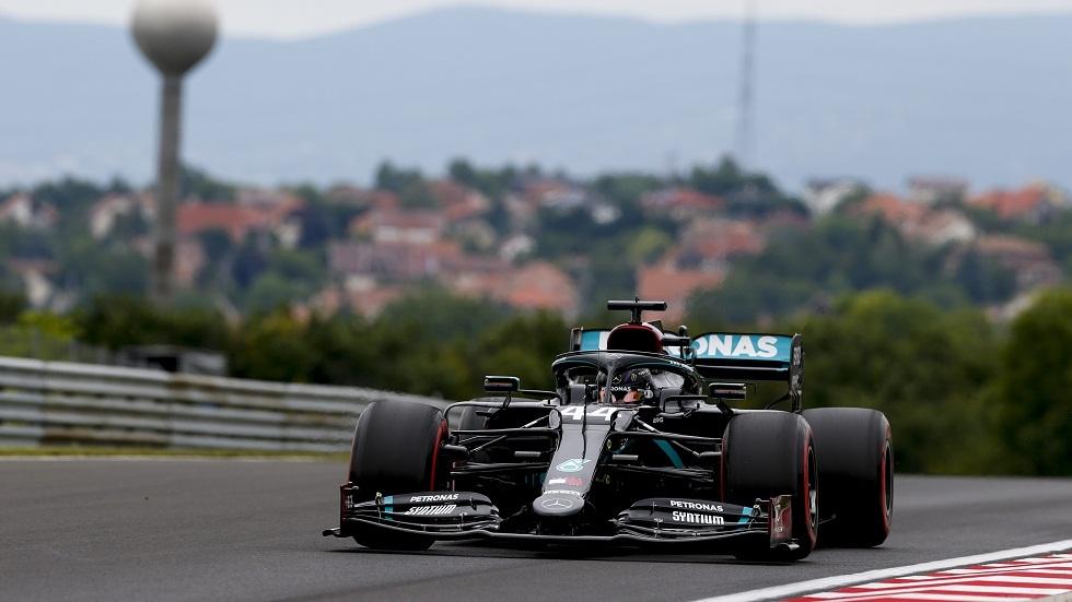 هاميلتون يقود مرسيدس للتفوق بجولة التجارب الحرة الأولى بجائزة هنغاريا الكبرى للفورمولا1