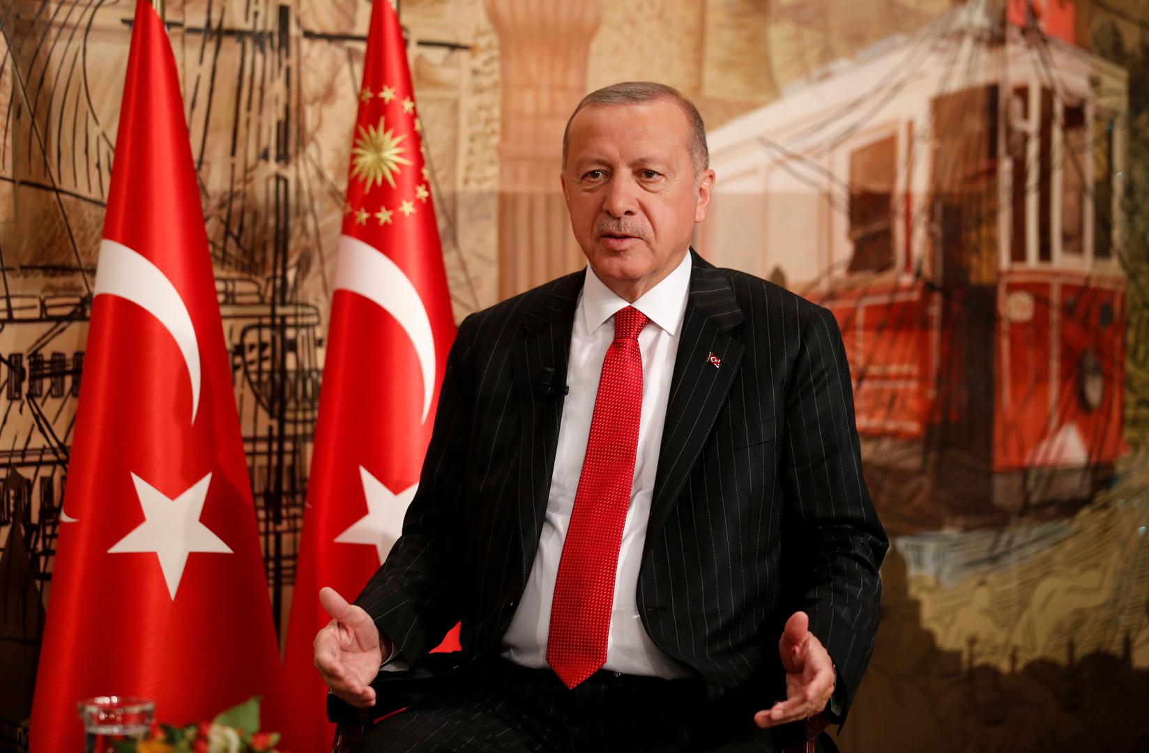 أردوغان: نبحث إبرام اتفاقية جديدة مع حكومة الوفاق الليبية