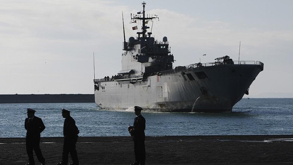 إيطاليا تقدم سفينة جديدة لعملية