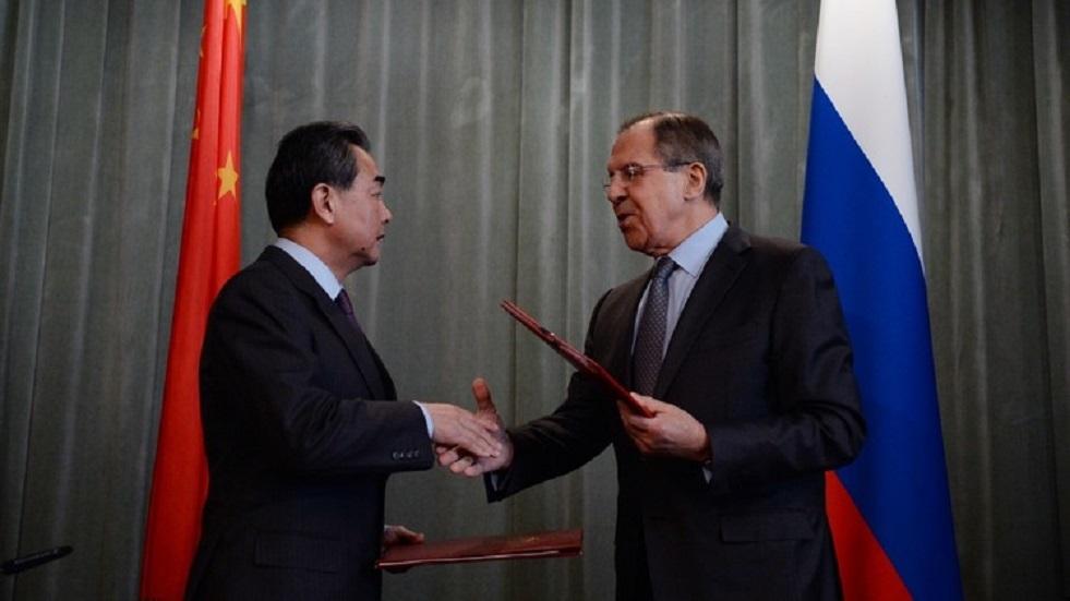 لافروف يطلع نظيره الصيني على حيثيات الحوار بين موسكو وواشنطن حول مشاكل مراقبة التسلح