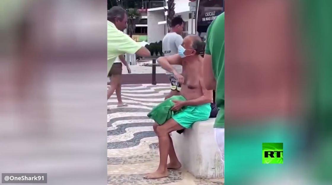 كاميرات ترصد رئيس البرتغال بلا حراس وبـ