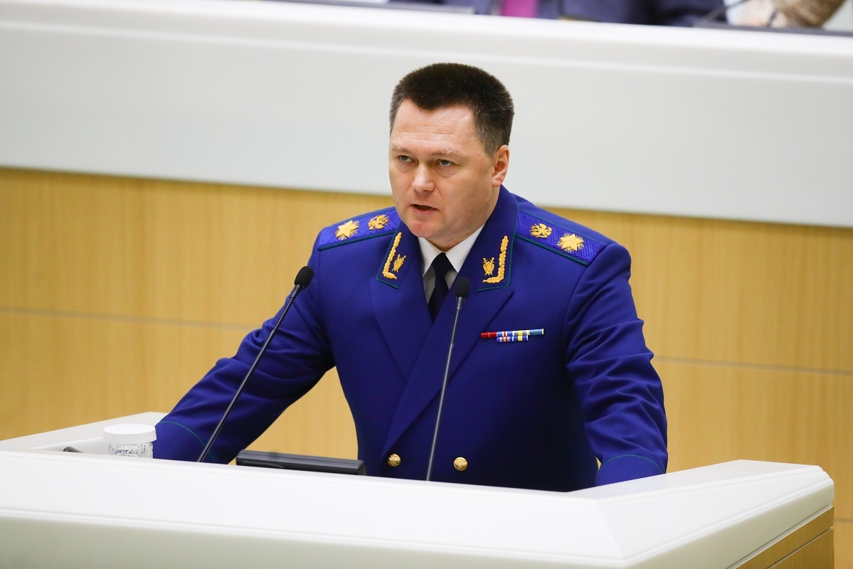 النائب العام الروسي يقترح تبني مفهوم