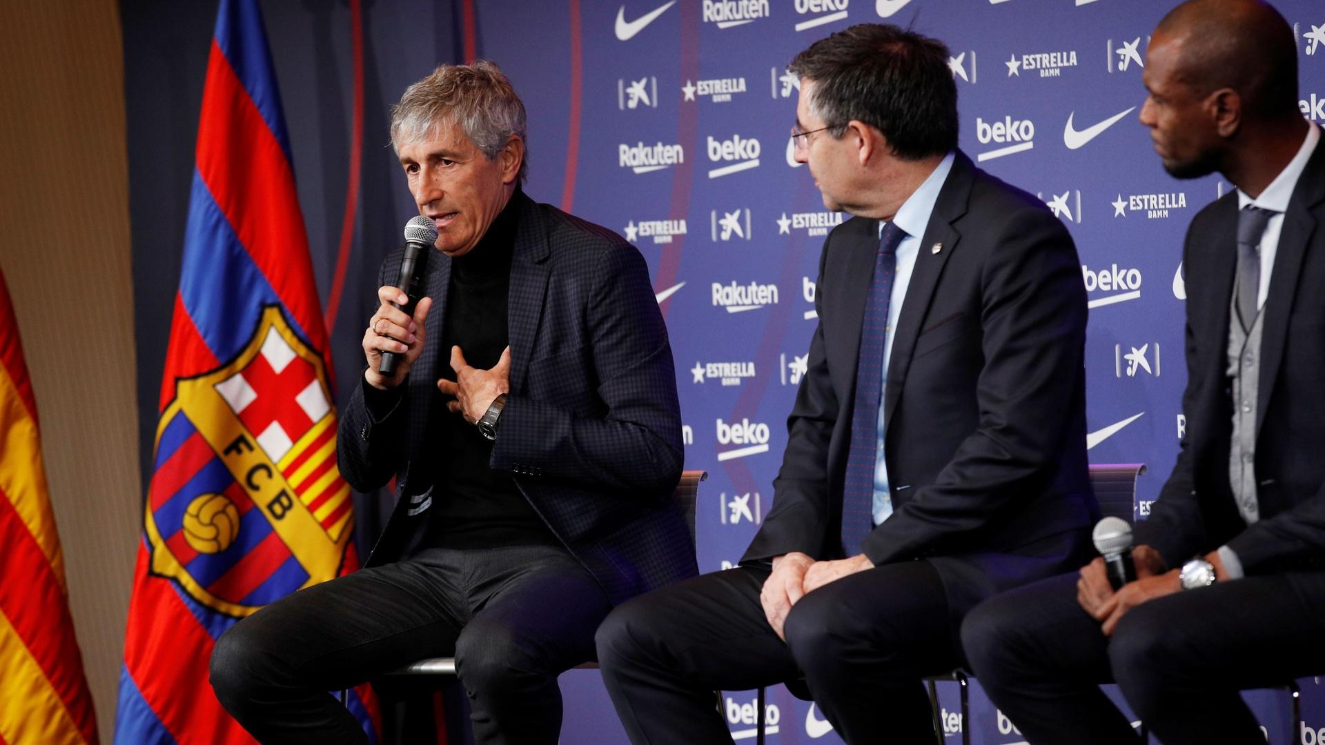 برشلونة يقرر هوية مدرب برشلونة المرشح بدلا من سيتين