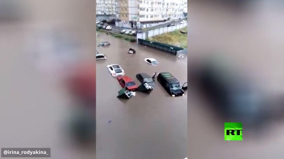 فيضانات في روستوف على الدون الروسية