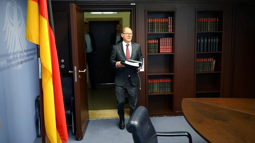 وزير المالية الألماني أولاف شولتس