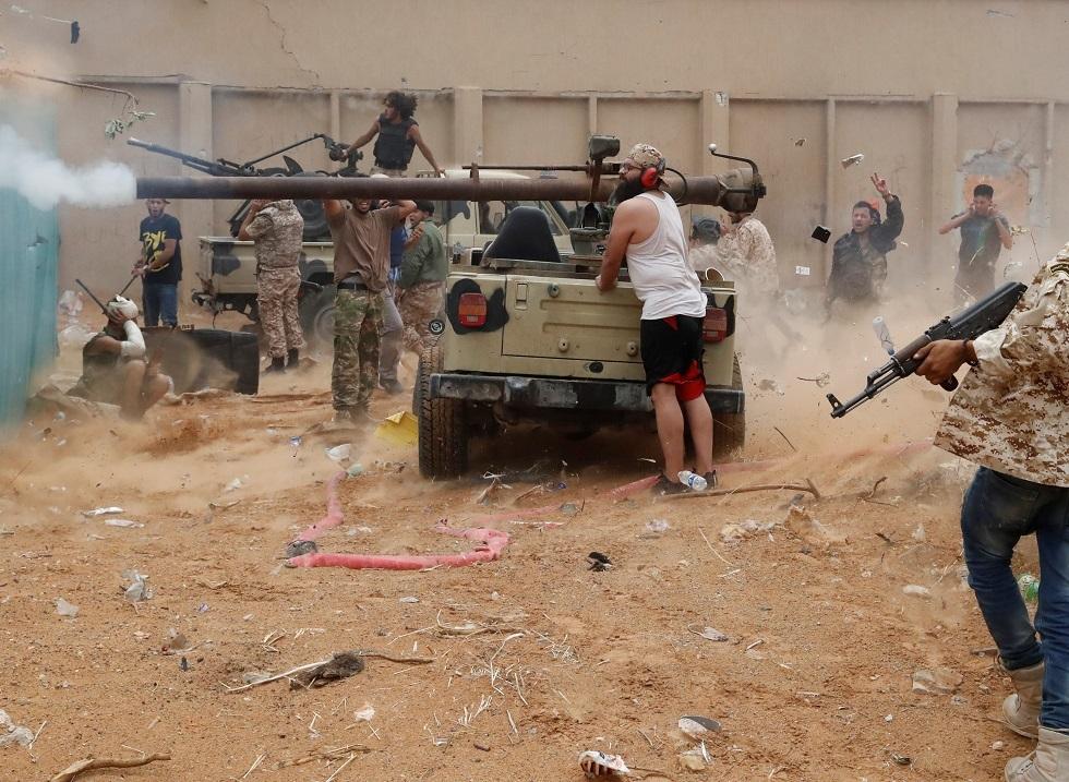 حكومة الوفاق الليبية تحشد قواتها قرب سرت