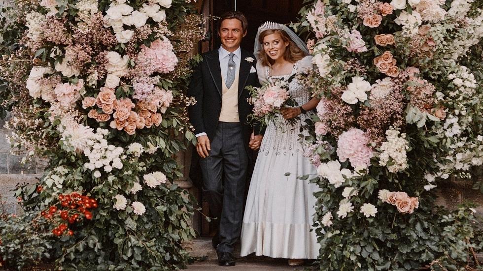 قصر باكنغهام ينشر تفاصيل زواج الأميرة البريطانية بياتريس