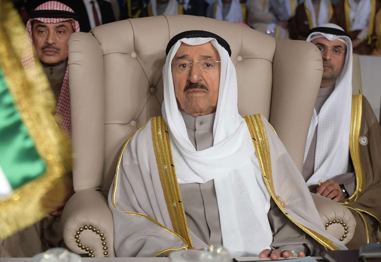 أمير الكويت الشيخ صباح الأحمد الجابر الصباح يخضع لعملية جراحية