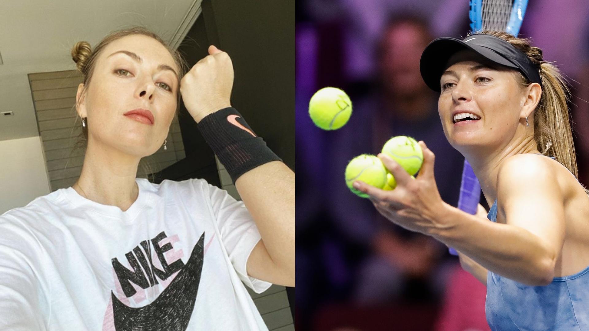 بعد اعتزالها التنس.. الحسناء الروسية تتحول إلى رياضة جديدة (فيديو)