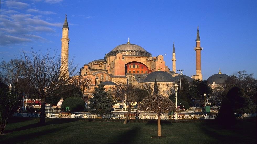 الرئاسة التركية: رسوم الفسيفساء في