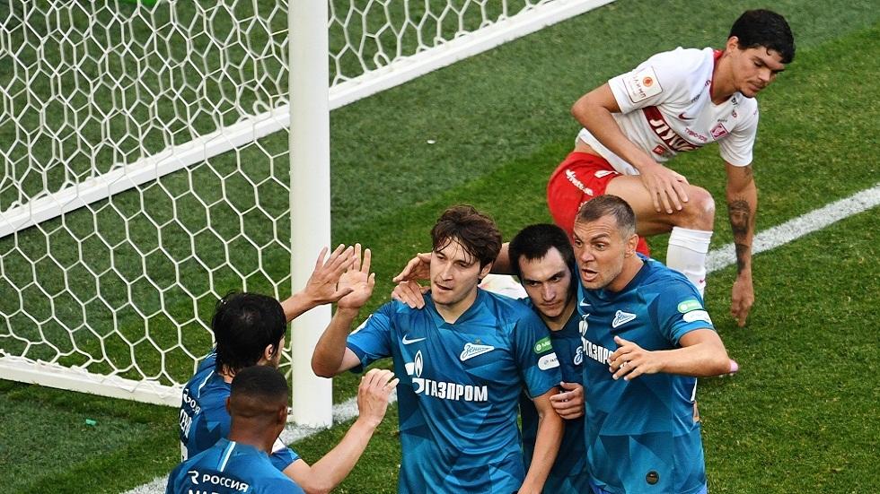زينيت يتغلب على سبارتاك موسكو ويضرب موعدا مع خيمكي في نهائي كأس روسيا (فيديو)