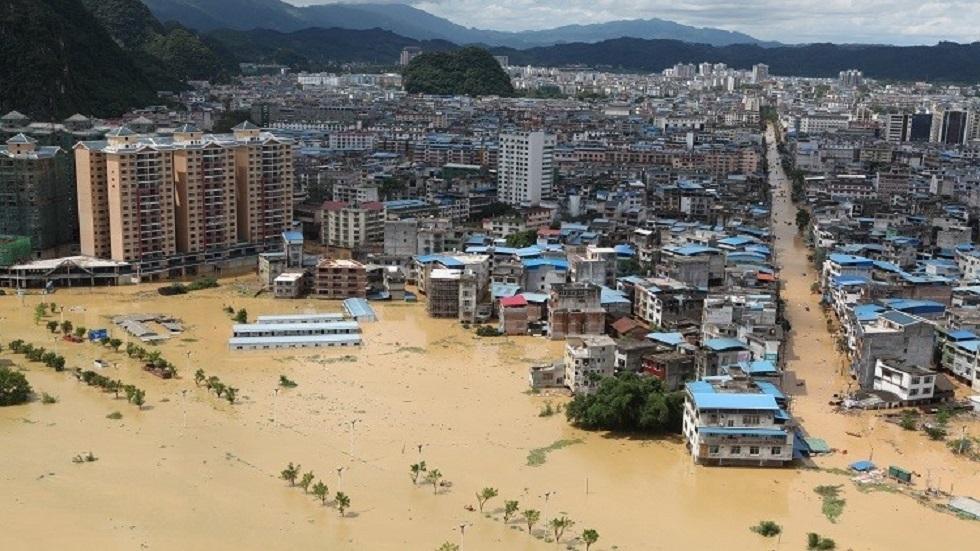 الصين تتوقع المزيد من الكوارث مع استمرار الأمطار الغزيرة