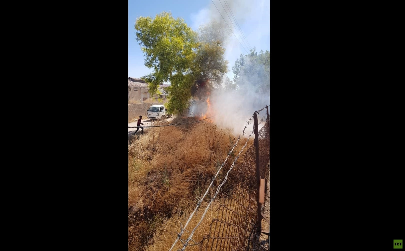 سقوط قذيفة أطلقت من الأراضي التركية على حي سكني في القامشلي