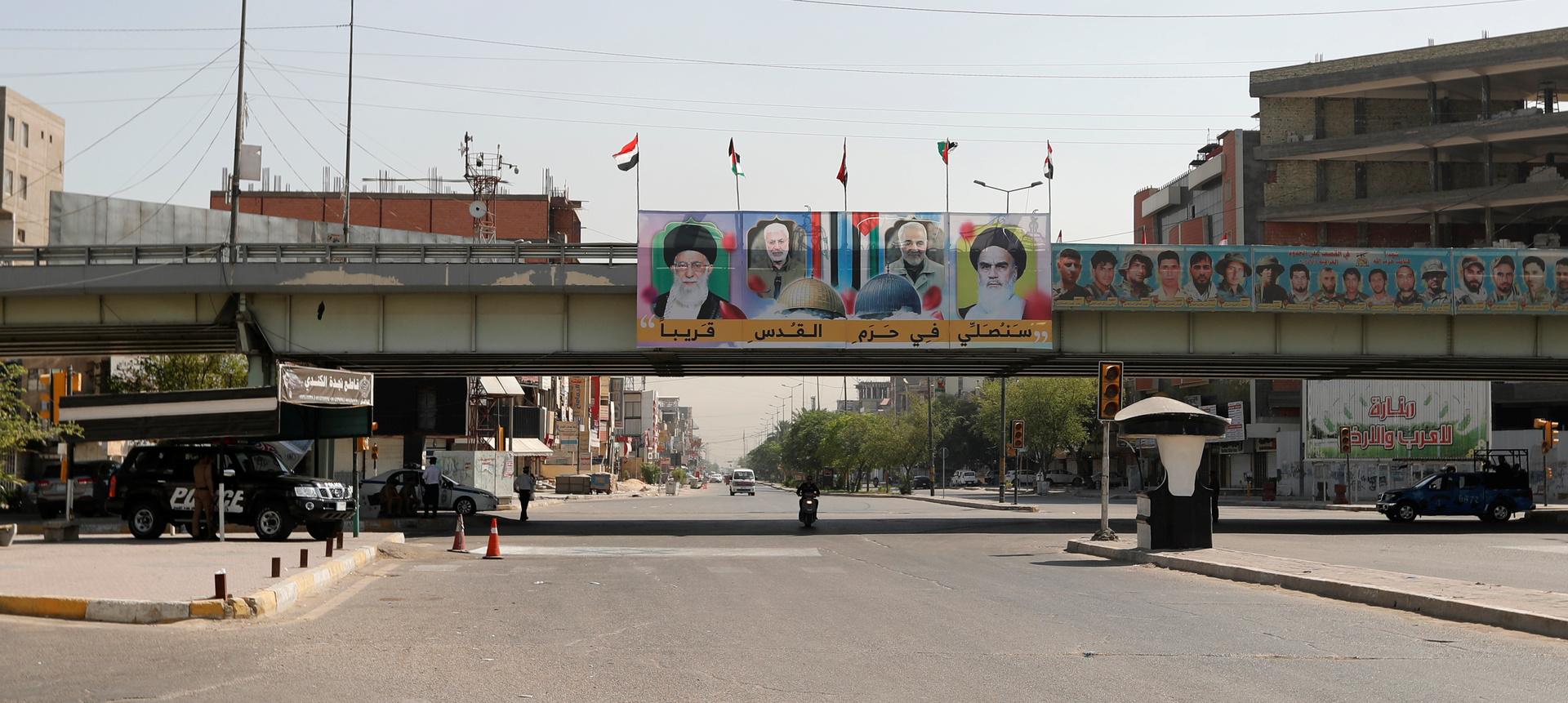 القضاء العراقي: ناقشنا مع ظريف إمكانية تدويل قضية اغتيال المهندس وسليماني