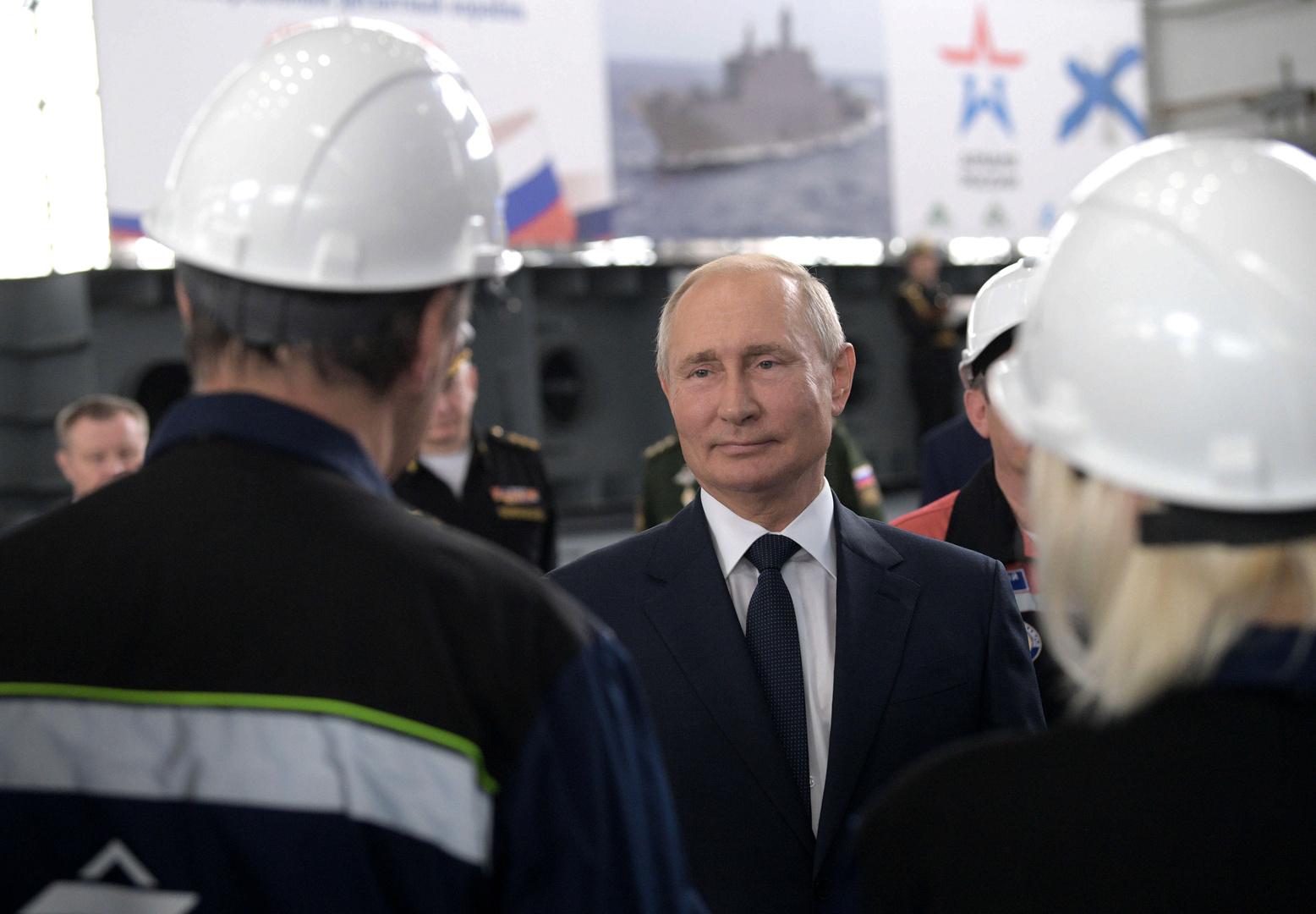 بوتين: معدل الوفيات جراء تفشي كورونا في روسيا أقل بكثير مما تسجله الدول الأخرى