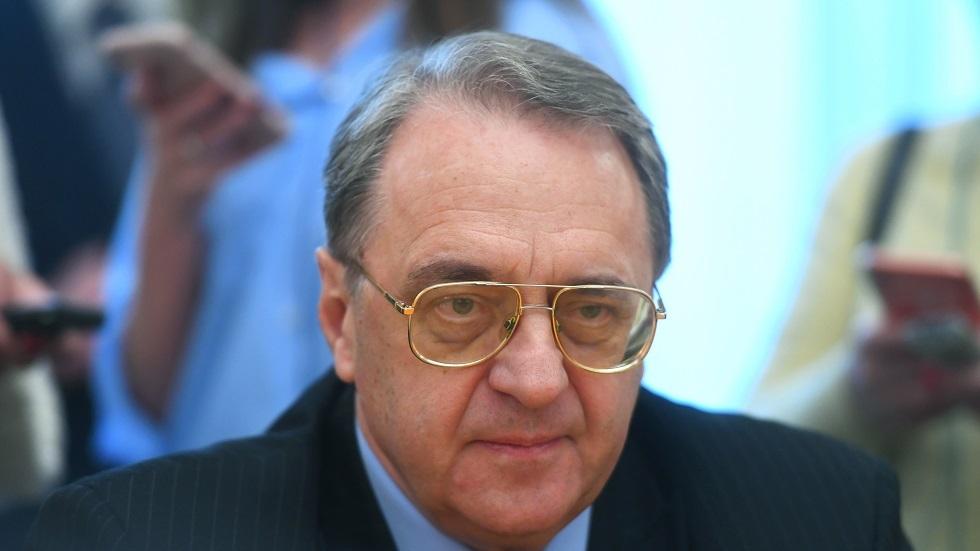 مبعوث الرئيس الروسي إلى الشرق الأوسط وأفريقيا/ ميخائيل بوغدانوف