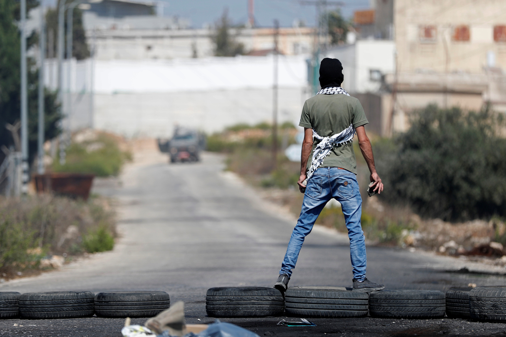 صورة تعبيرية لشاب فلسطيني