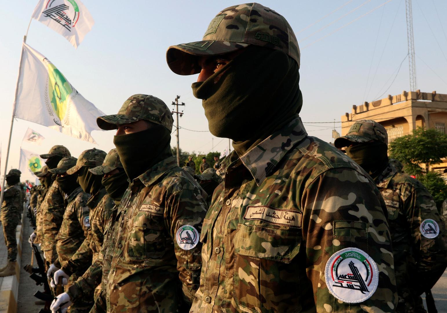 الحشد يعلن قتل المجموعة المسؤولة عن اغتيال قائد الفرقة الرابعة بالشرطة العراقية