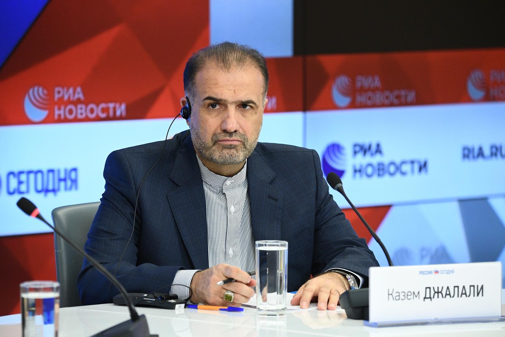 السفير الإيراني بموسكو: طهران تهتم بالأسلحة الروسية الحديثة