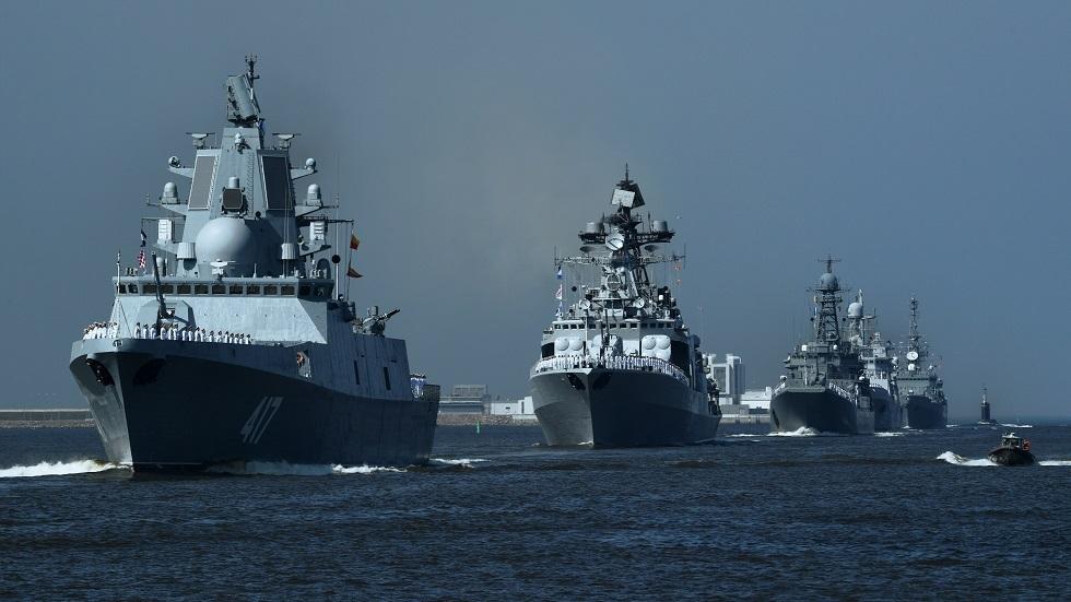 فرقاطات صاروخية روسية
