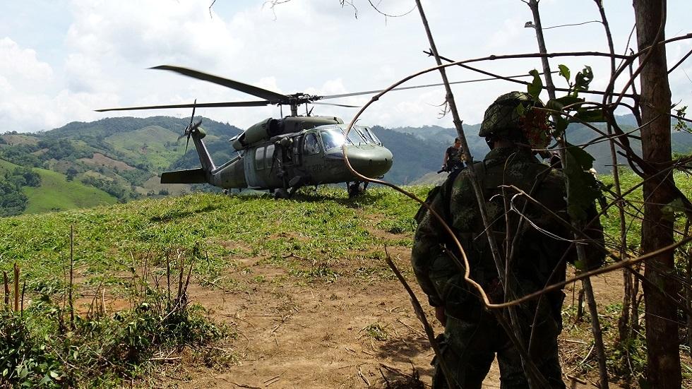 مقتل 9 عسكريين كولومبيين في حادث طائرة هليكوبتر