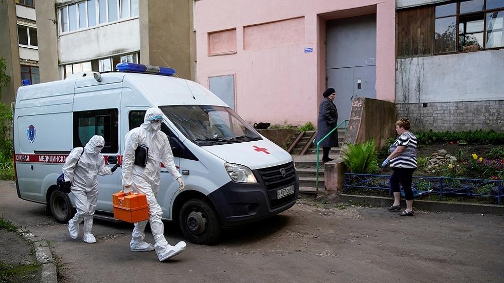 روسيا تسجل 5862 إصابة و165 وفاة جديدة بكورونا