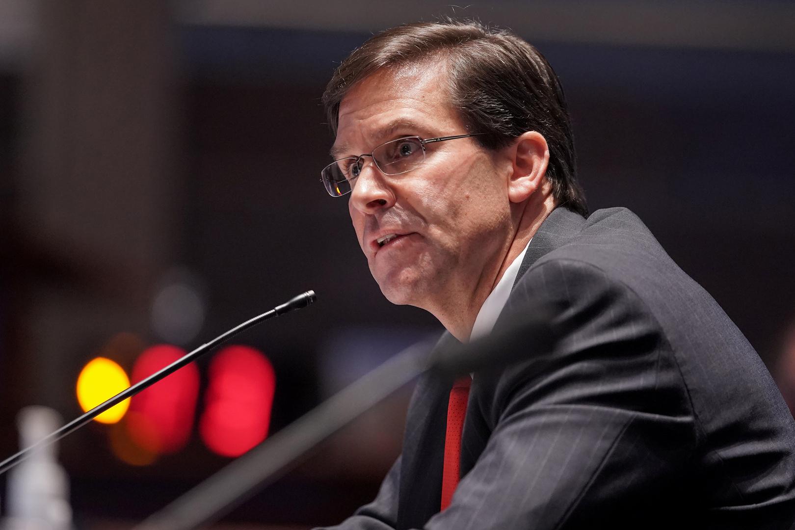 وزير الدفاع الأمريكي: نستعد لمواجهة محتملة مع الصين في جميع أرجاء آسيا