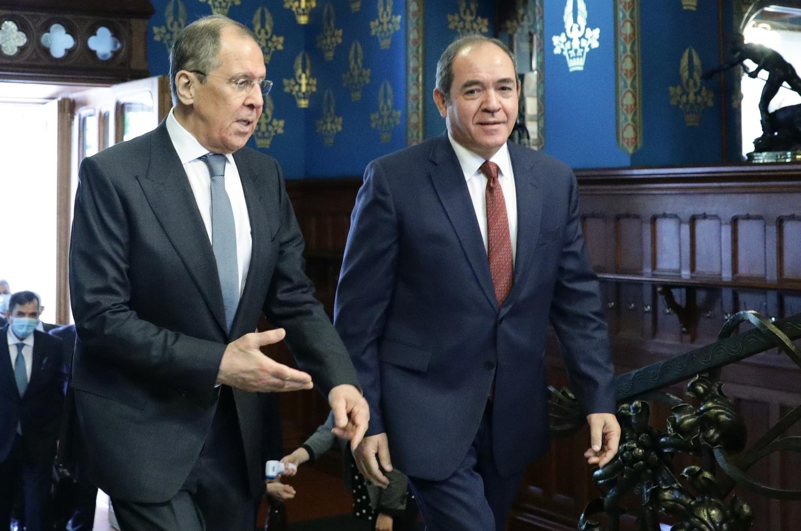لافروف وبوقادوم: لا بديل عن حل سياسي في ليبيا على أساس مخرجات برلين