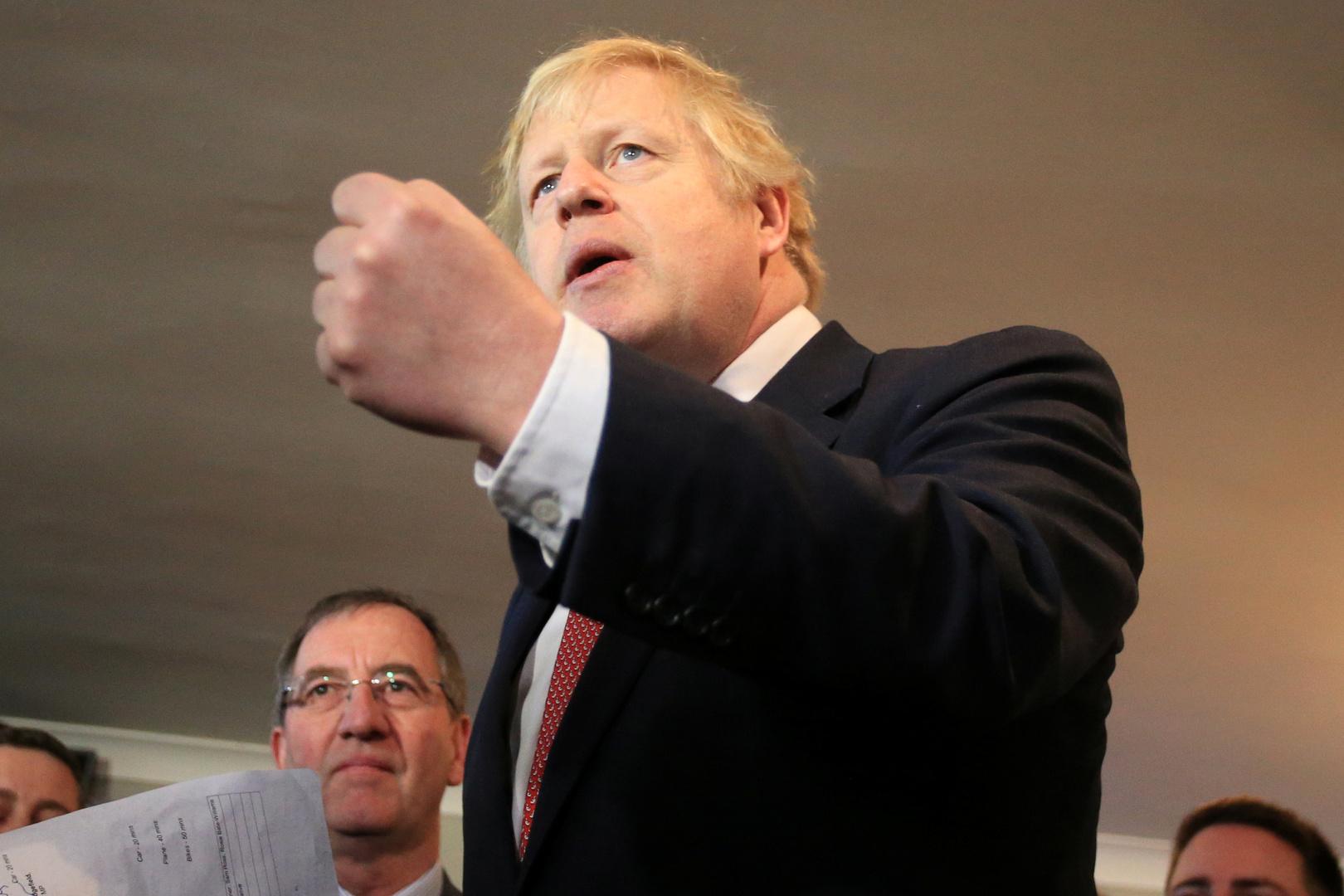 جونسون ينفي وجود أي ضغط روسي وراء نتائج استفتاء