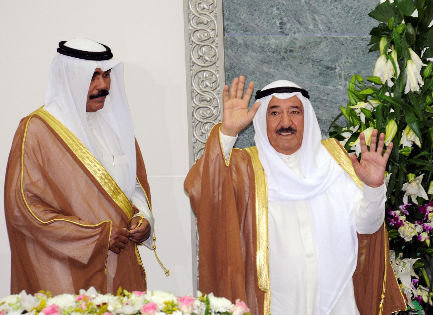 الديوان الأميري: أمير الكويت يغادر للولايات المتحدة لاستكمال العلاج بعد عملية جراحية ناجحة