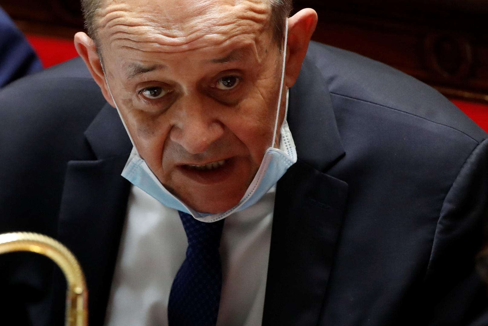 لودريان يزور بيروت وسط تقارير عن خطة فرنسية لدعم لبنان