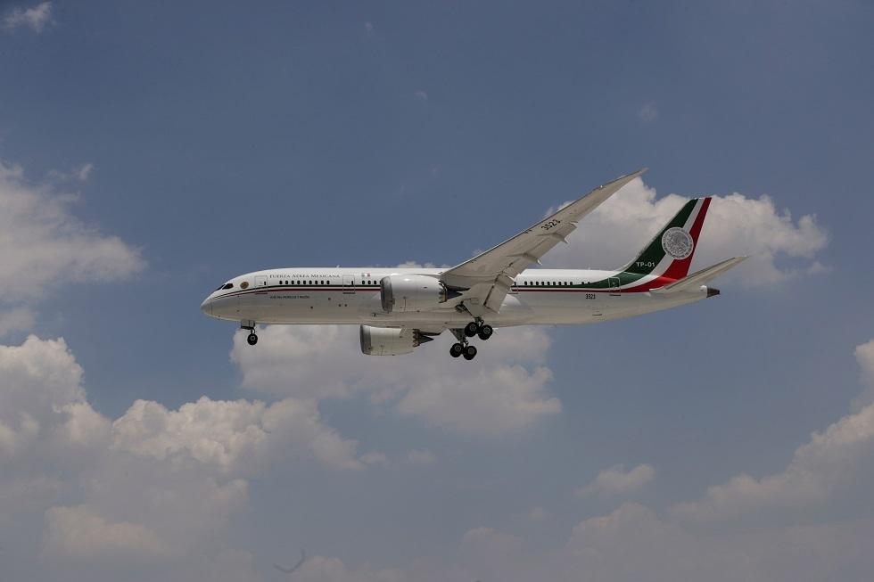 المكسيك تعيد طائرة الرئاسة الفاخرة بعد فشل بيعها في الولايات المتحدة