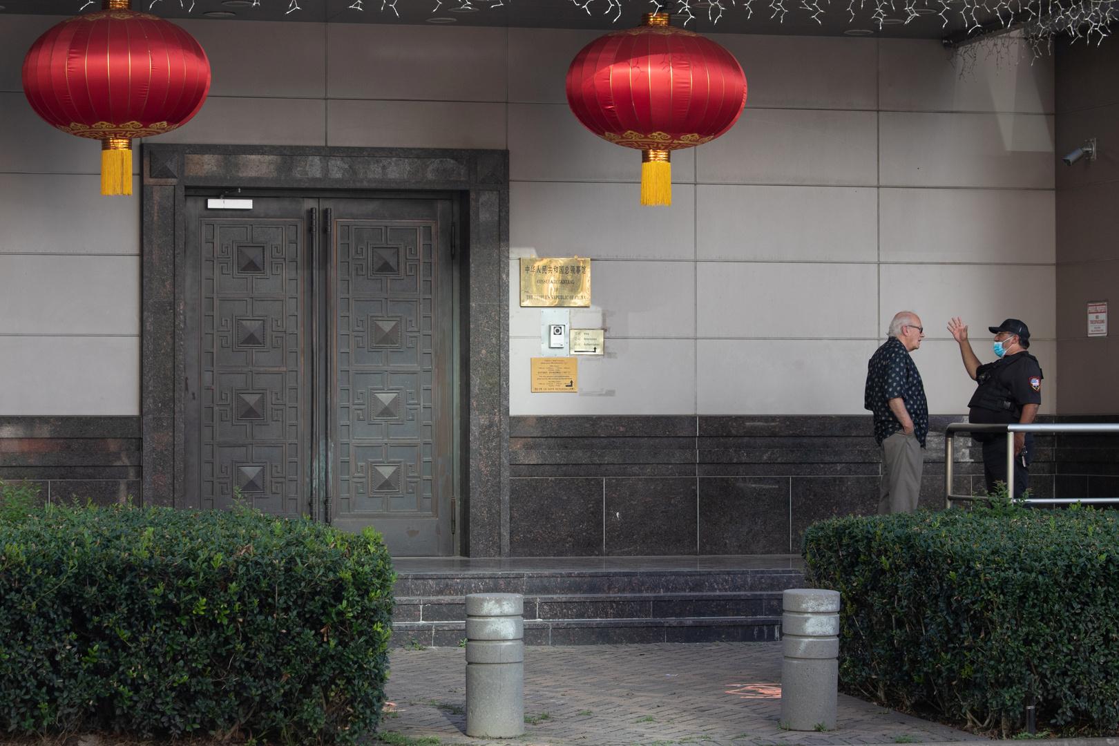 حريق داخل القنصلية الصينية في هيوستن وواشنطن تمهل بكين 72 ساعة لإغلاقها