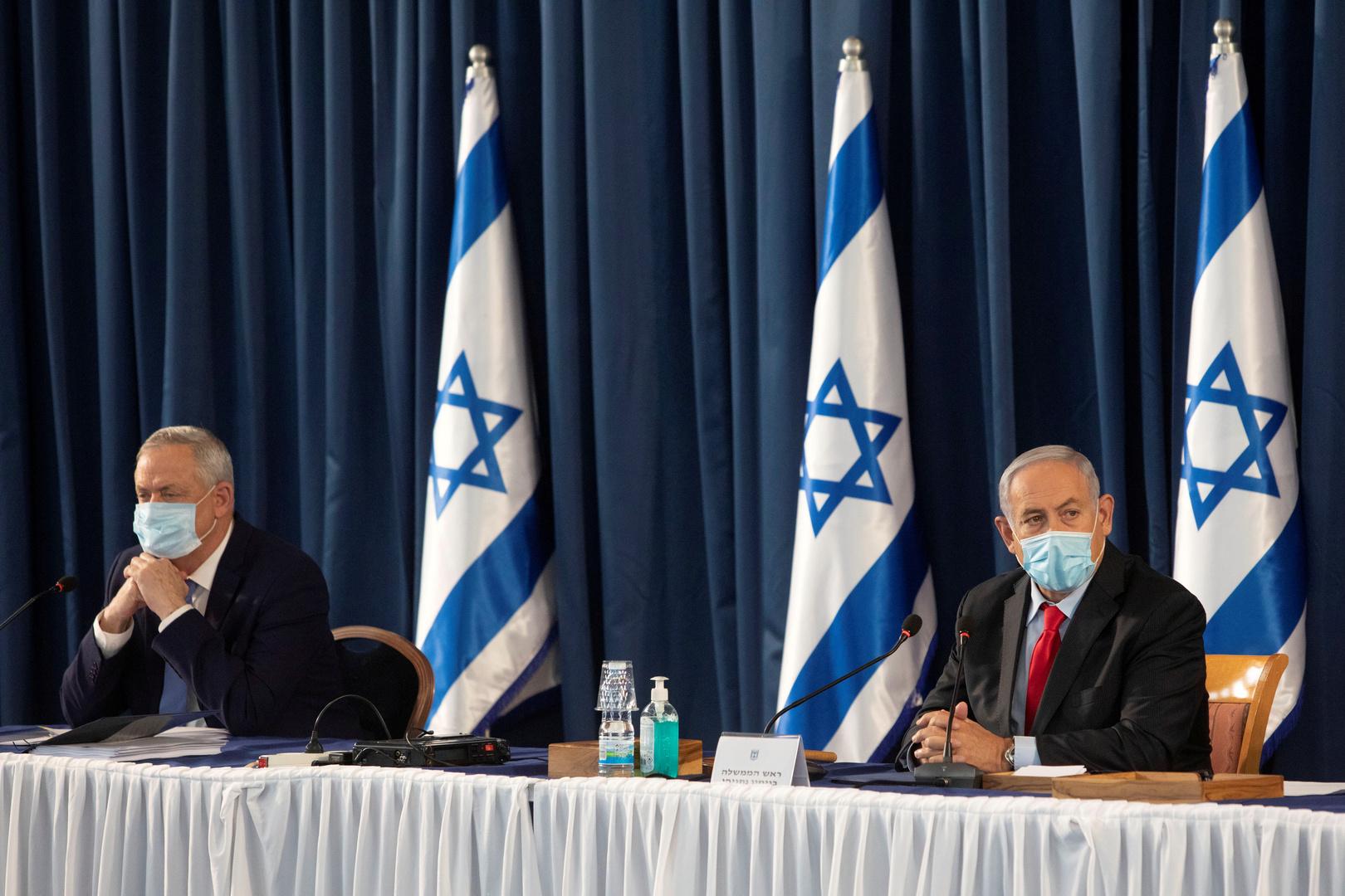 وسائل إعلام: نتنياهو بصدد حل ائتلافه مع غانتس والذهاب إلى انتخابات جديدة
