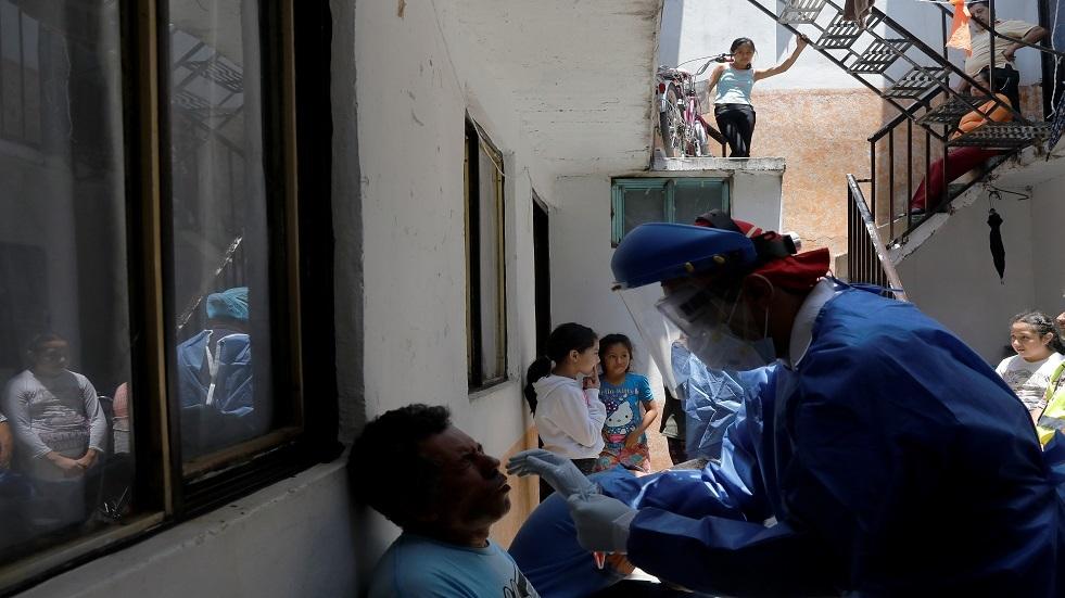 المكسيك.. أكثر من 6000 حالة إصابة جديدة بكورونا المستجد