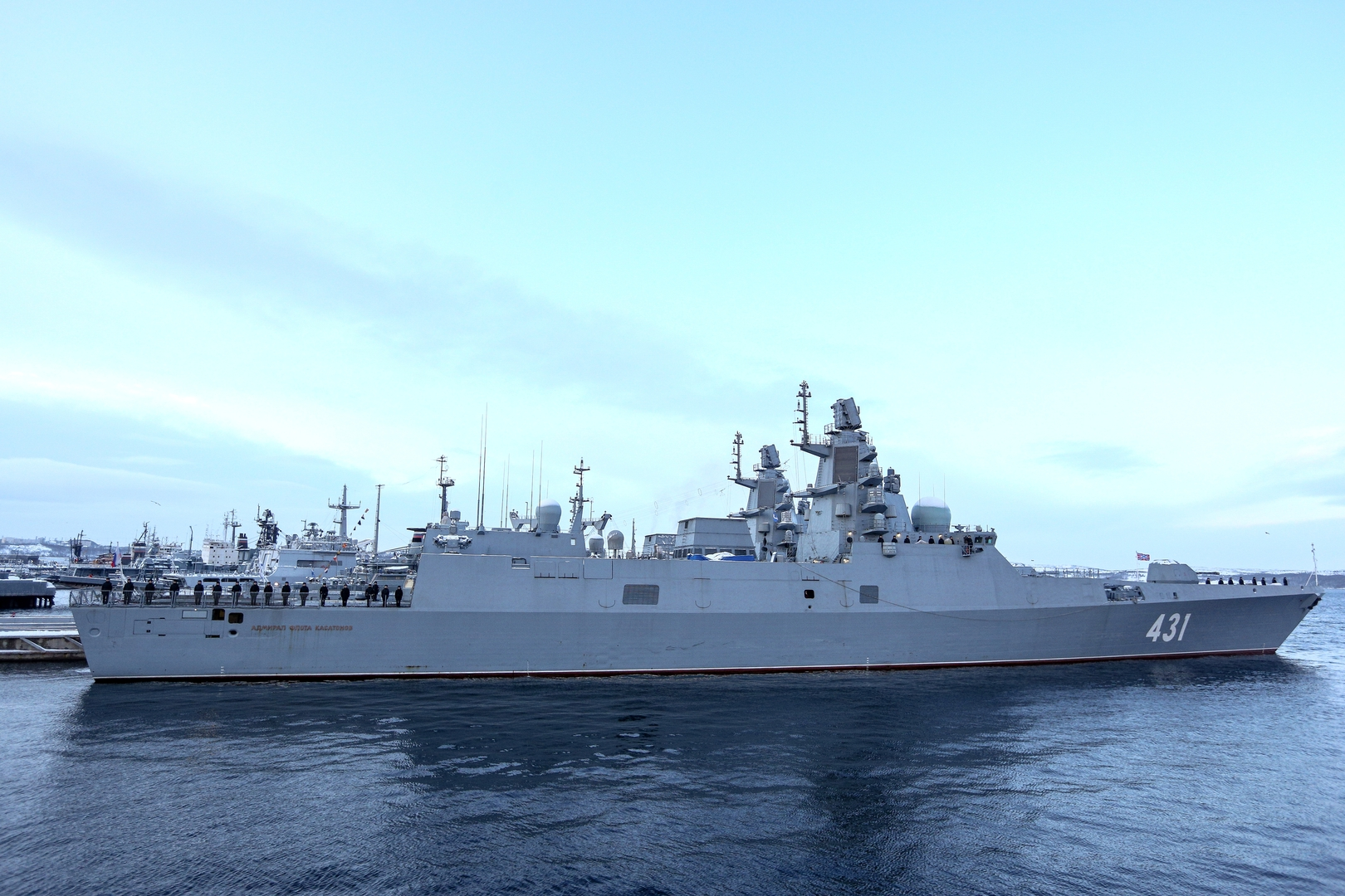 فرقاطتان بأسلحة فرط صوتية تلتحقان بالأسطول الروسي في 2025-2026