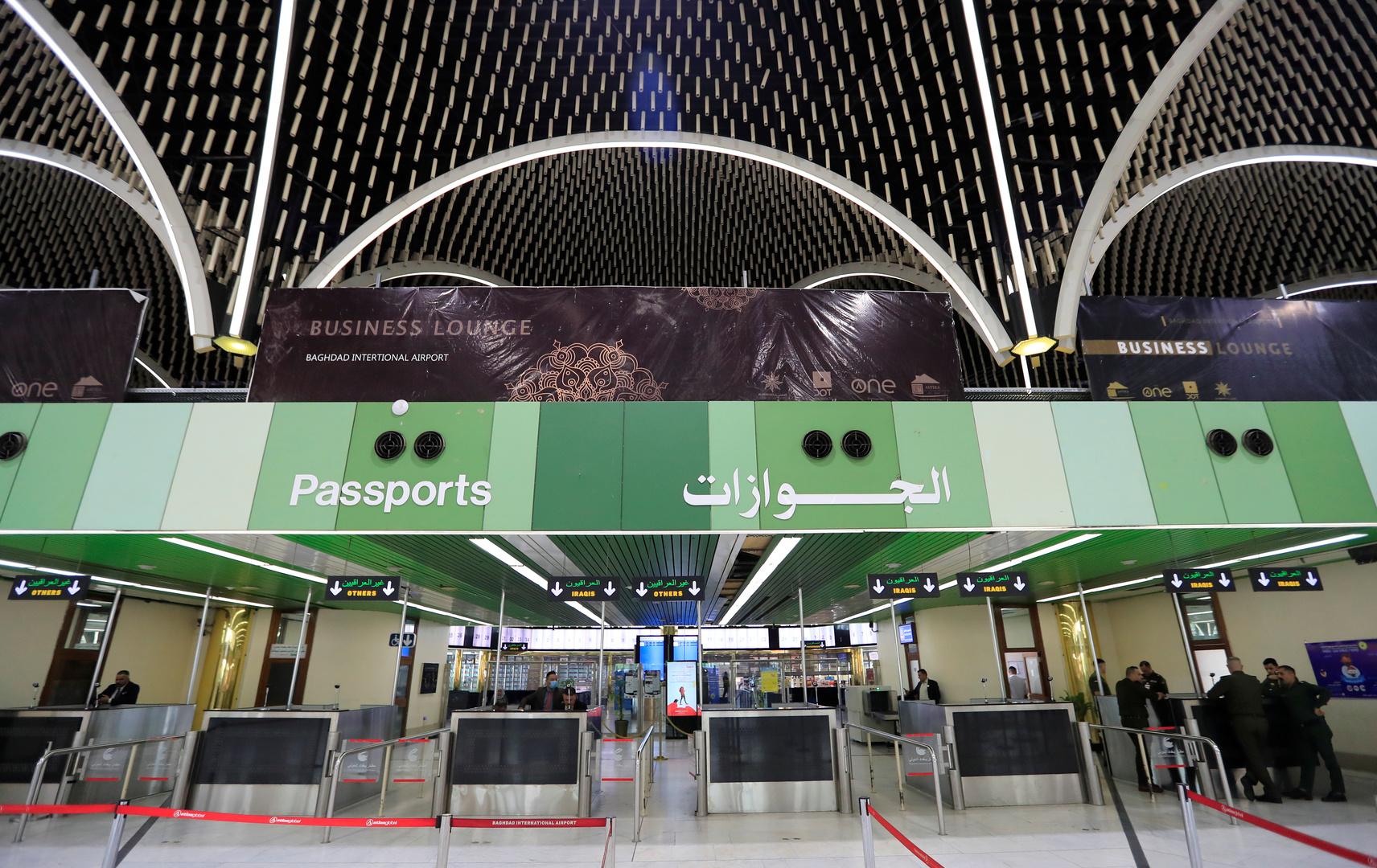 إعادة افتتاح مطار بغداد رغم تجاوز إصابات كورونا 100 ألف في البلاد