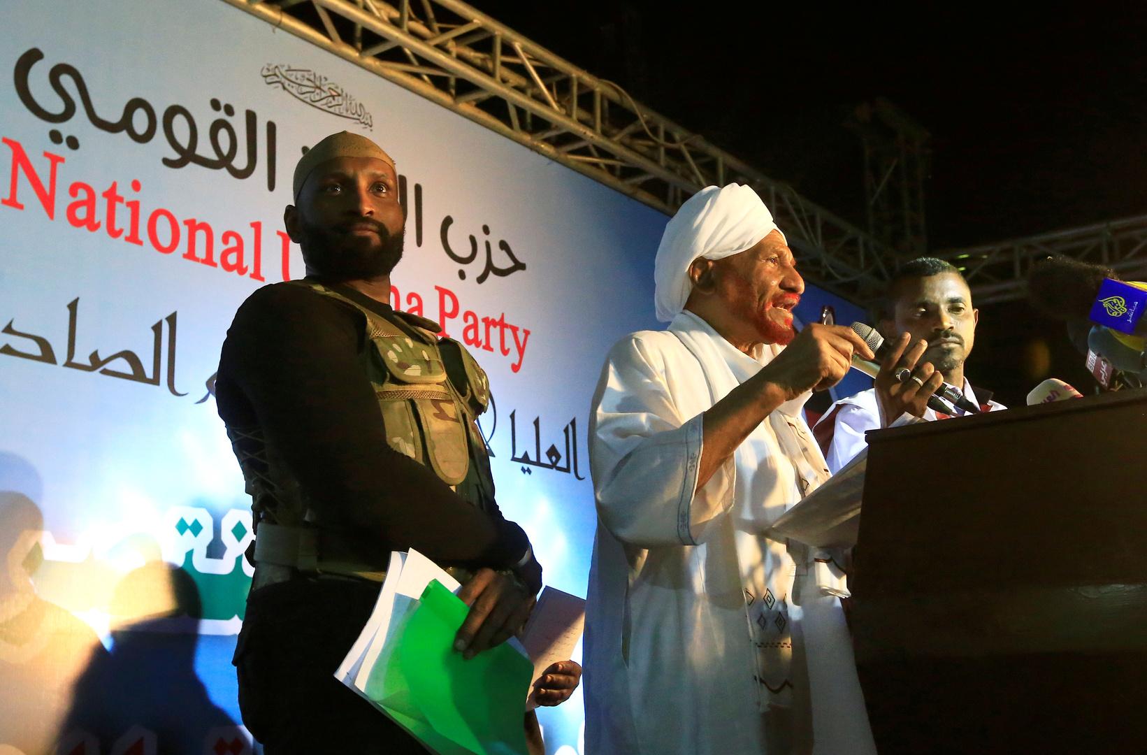 السودان.. حزب الأمة القومي يرفض المشاركة في حكم الولايات ويعلن سحب ممثليه