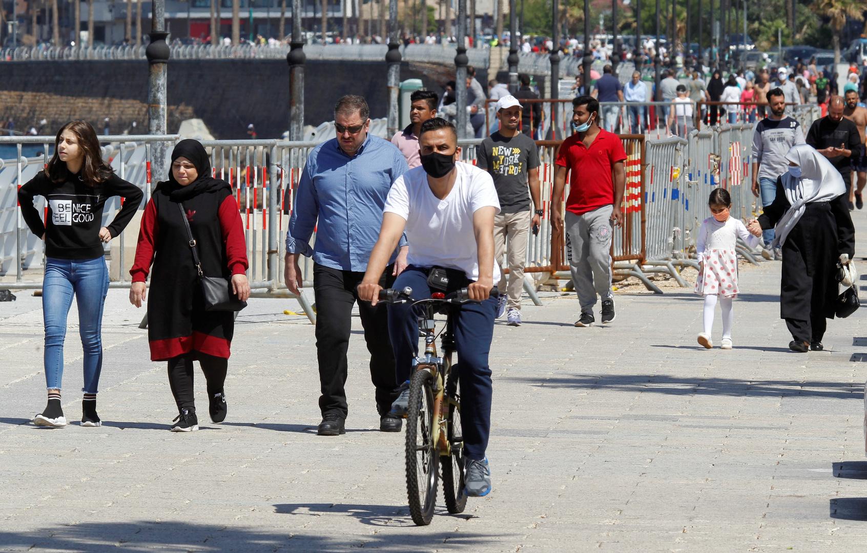 لبنان.. 161 إصابة جديدة بكورونا ووزير الصحة يحذر من