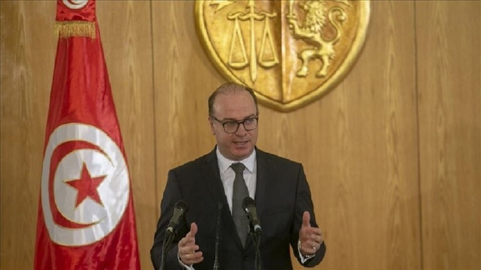 رئيس حكومة تصريف الأعمال في تونس، إلياس الفخفاخ
