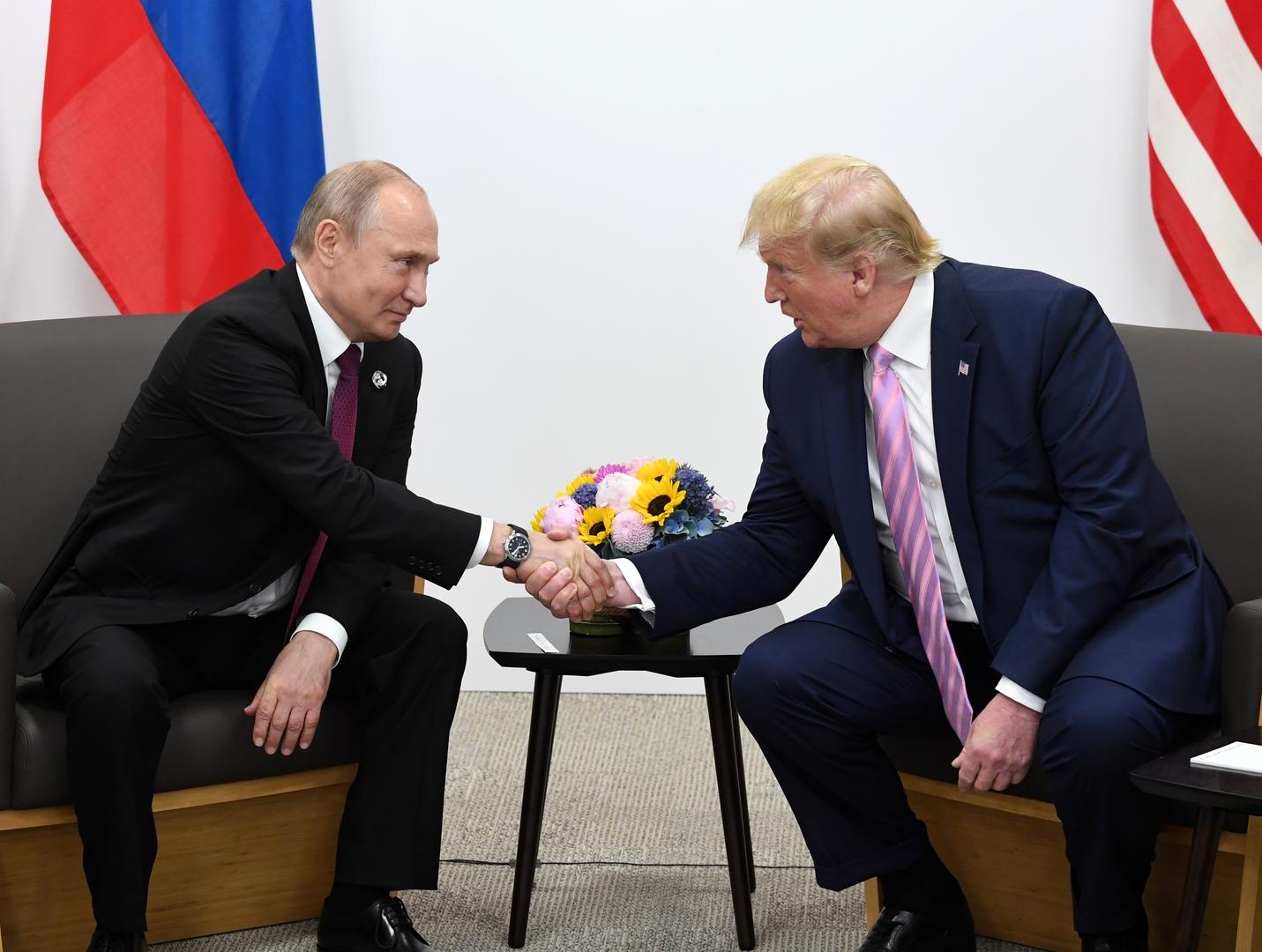 الكرملين: بوتين وترامب يجريان مكالمة بناءة حول الاستقرار الاستراتيجي والسيطرة على الأسلحة