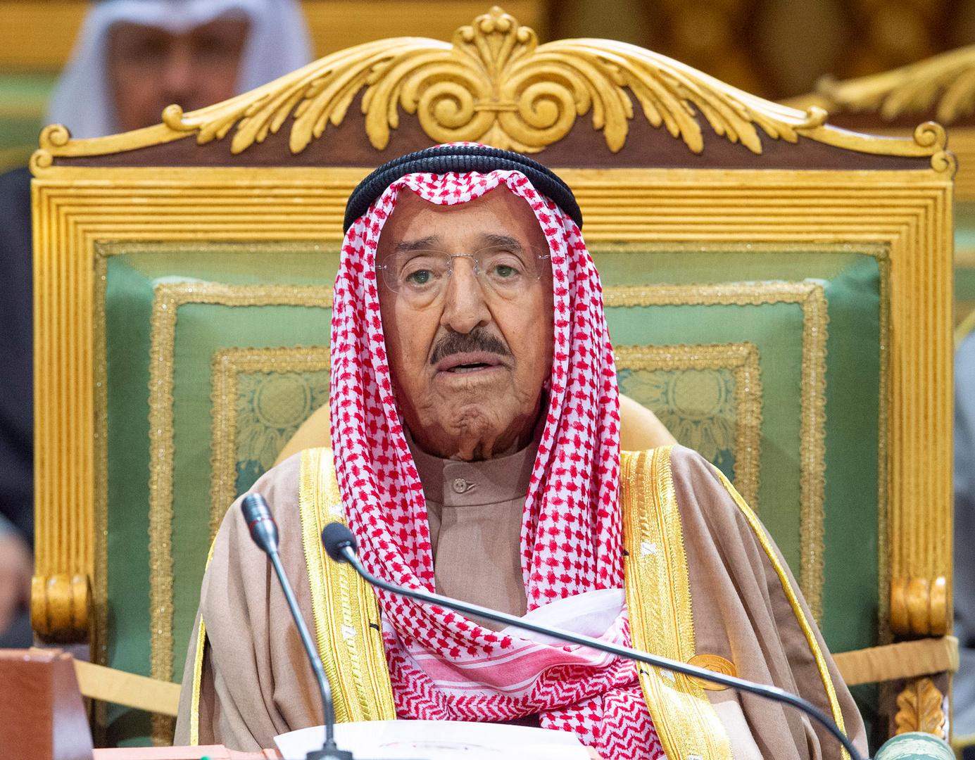 أمير الكويت يصل إلى الولايات المتحدة لـ